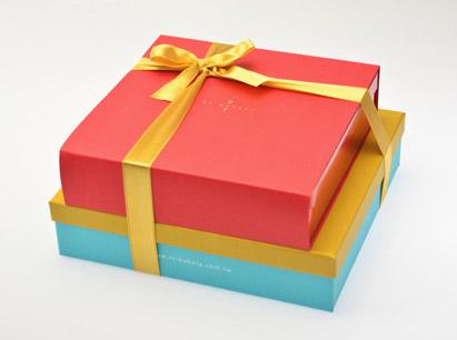 巧思(黃色或紅色封套)+小黃雅緻禮盒~喜餅版