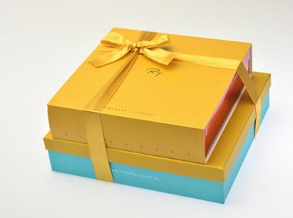 巧思(黃色或紅色封套)+黃鴛鴦喜餅~喜餅版