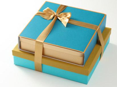 藍精緻+小黃雅緻禮盒~喜餅版