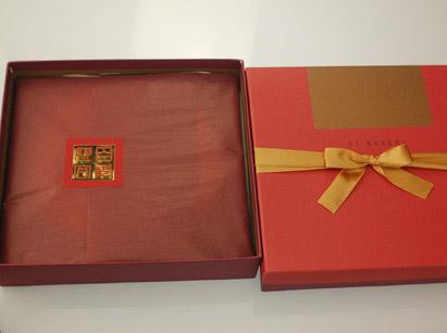 鴛鴦喜餅-紅金盒