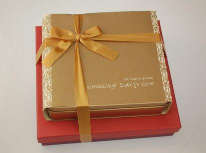 金精緻+小紅雅緻禮盒~喜餅版