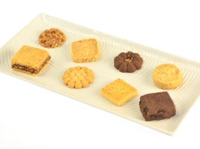 巧思禮盒(紅鐵盒+黃色紙封套)~新口味.非精緻小西餅~訂單已滿