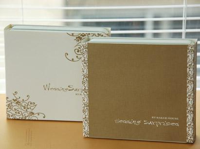 精緻小西餅-白色或金色封套(封套有英文結婚字樣)