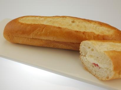 冷凍草莓優格麵包